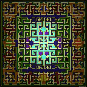 Maze design by Malcolm Stewart