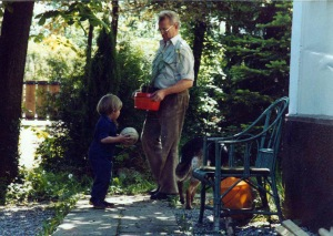 Opa and his grandson