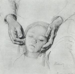 Käthe Kollwitz,  'Zertretene' 1900