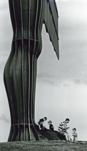 Sylvia Selzer's photo of the Angel of the North is the most poignant image of an angel I've come across.