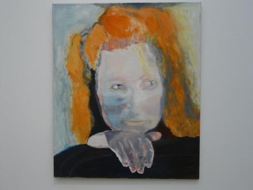 The self-portrait 'Evil Is Banal'