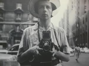 A self-portrait of Vivian Maier
