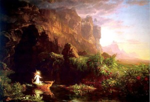 Childhood, Thomas Cole, 1842