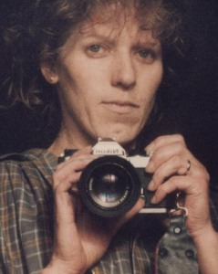 about 30 years ago,  before selfies were vogue