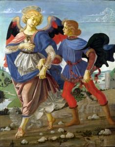 Tobias and the Angel - Andrea del Verrrocchio's workshop
