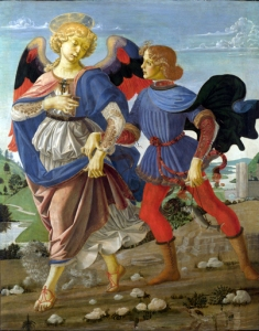 Tobias and the Angel - Andrea del Verrrocchio's workshop