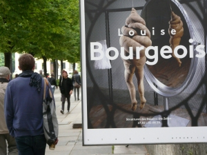 Louise Bourgeois at 'Hause der Kunst.'
