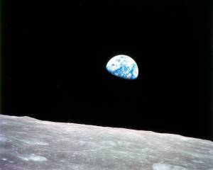 1968 Earth Rise, Apollo Mission 8