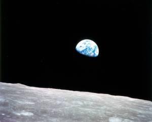 1968 Earth Rise, Apollo Mission 8